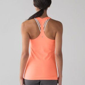 Lululemon Neon Orange Cool Racerback 2